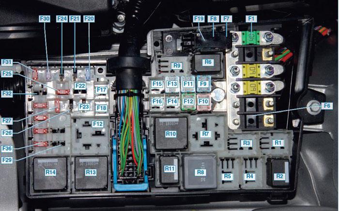 Схема проводов форд фокус 2